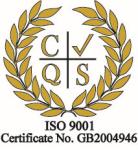 ISO 9001 Certificate logo