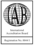 International Accreditation Board logo